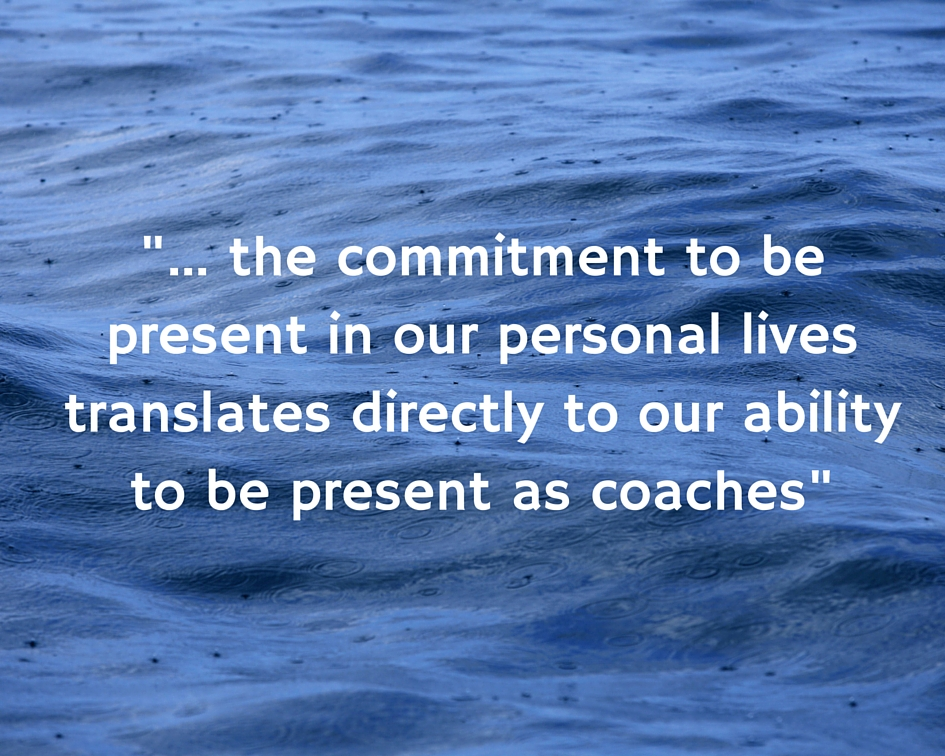 Coaching Presence: This is personal.