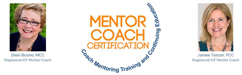Mentor Coach Certification header graphic